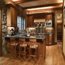 Rustic Small Kitchen Design Ideas