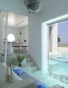 Summer house in paros cyclades greece design by logodotis  art to fit alexandros also maison dujour greek rdujour interiors rh pinterest