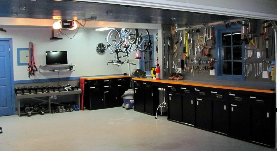 Garage kitchen cabinets  Garage Paradise  Pinterest