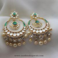 Imitation Chandbali Earrings from Aatman   Indian jewelry ...
