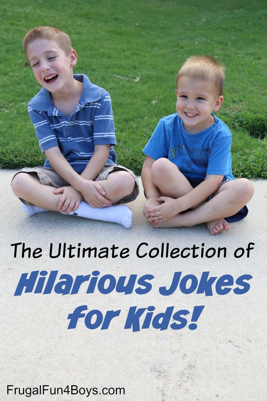 Hilarious Jokes Kid Friendly
