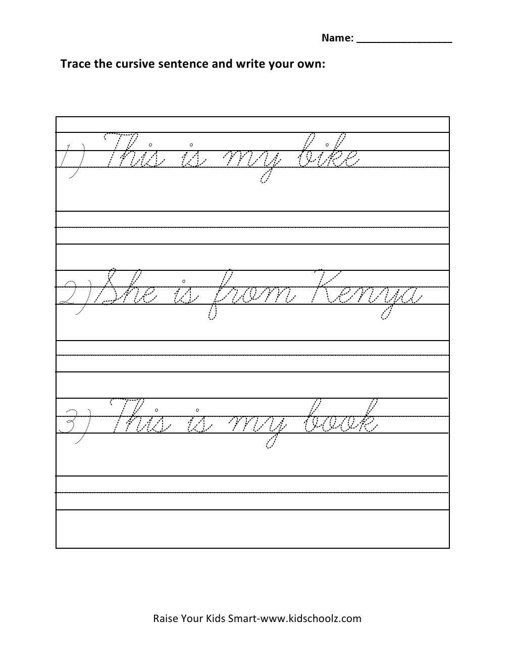 hight resolution of Grade 1 Writing Activities Worksheets