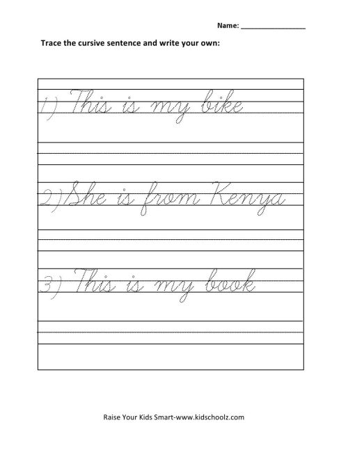 small resolution of Grade 1 Writing Activities Worksheets