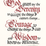 Top 10 Serenity Prayer Typography Posters For Sale