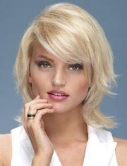 chin length layered hairstyles