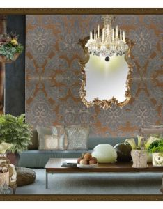 Damask by julissag liked on polyvore featuring interior interiors design also rh za pinterest