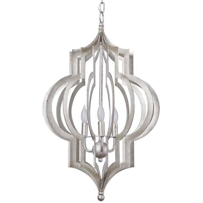 Regina Andrew Design Pattern Makers Chandelier Silver