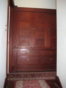 Craftsman House Linen Closet