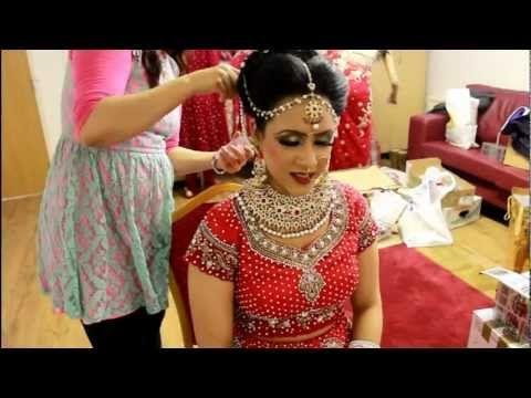 Bridal Hair Tutorial VIDEO Real Bridal Makeup And Hair By Sadaf