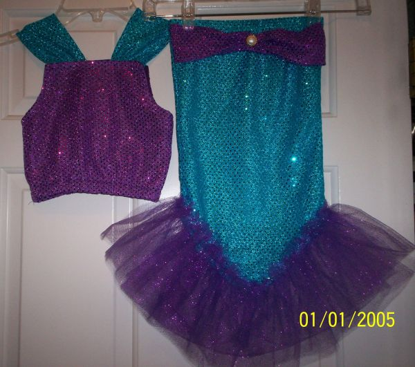 Mermaid Costume Kids Ideas Girls
