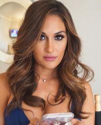 Hair & makeup on my beauty queen @thenikkibella  Lashes ...