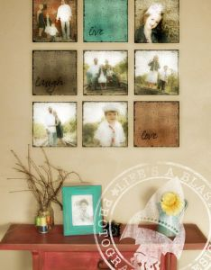 Picture framing ideas top easy diy home decor projects do this with wedding pictures also rh pinterest