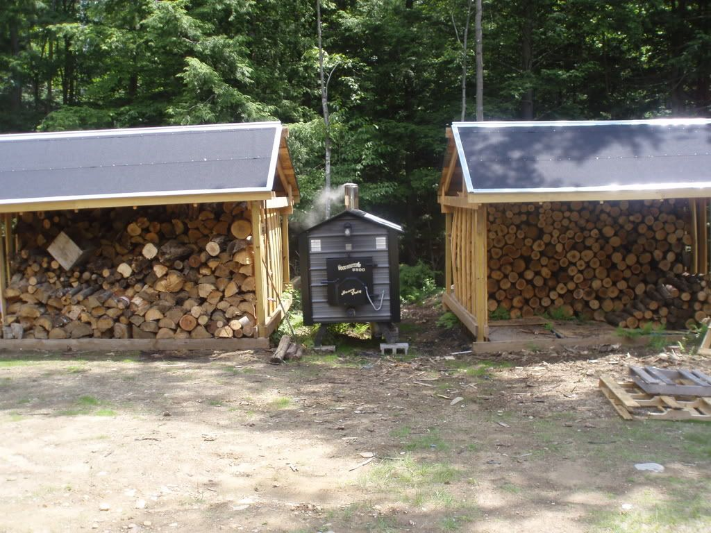 Outdoor wood burning furnace, except I want the furnace
