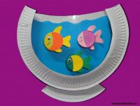 Paper Plate Fish Aquarium Craft | Kids Crafts | Pinterest ...