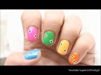 Easy Nail Designs For Kids & Beginners (Nail Art Using ...