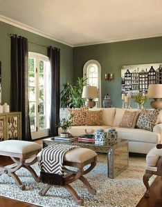 Jeff lewis color edamame on the walls reminds me of in our den also by first house pinterest and rh