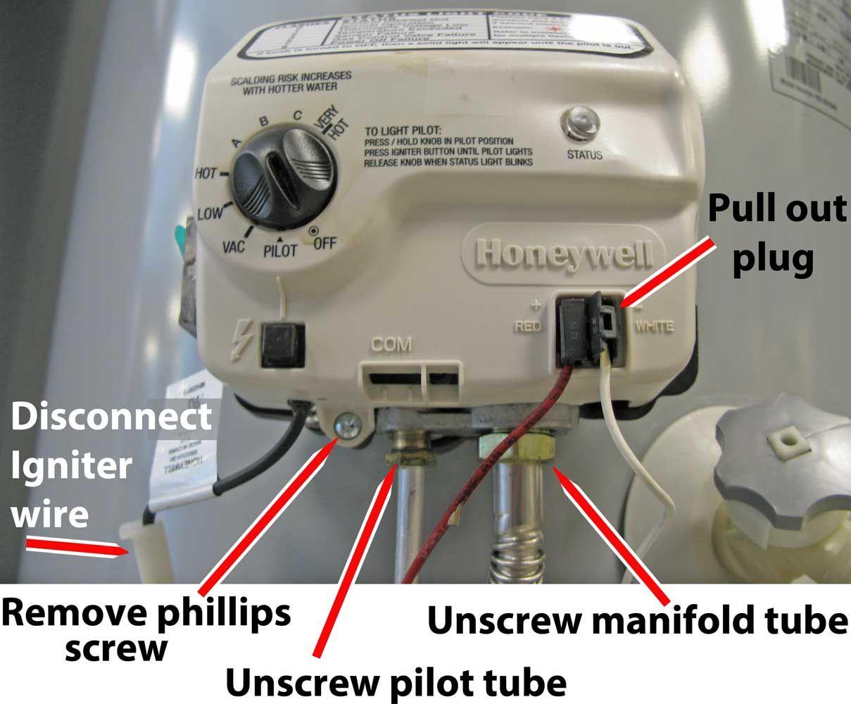 honeywell gas valve wiring diagram for hot tub 34