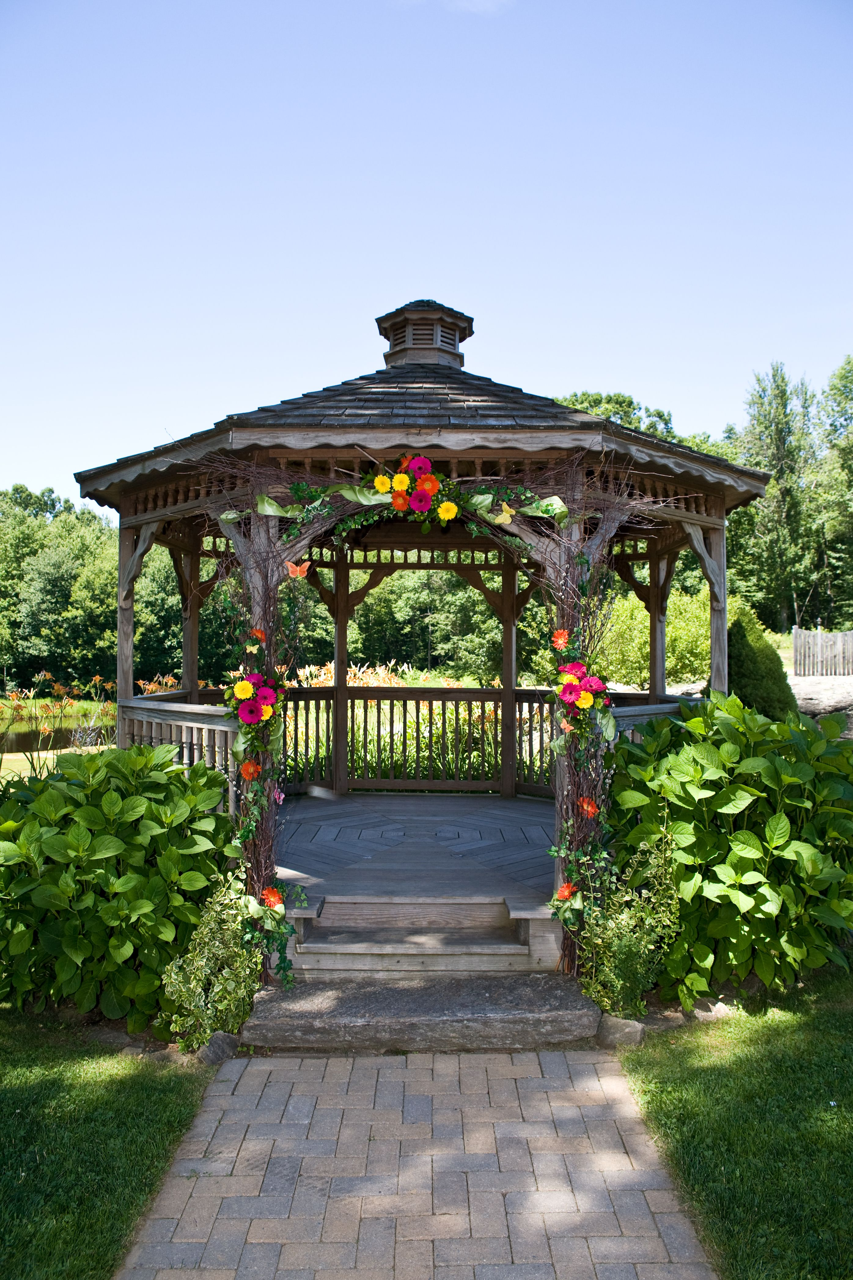 alternate gazebo decorations  Wedding Ideas  Pinterest