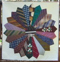 Men's Tie Quilt Patterns Free   Constantly Quilting: Tie ...