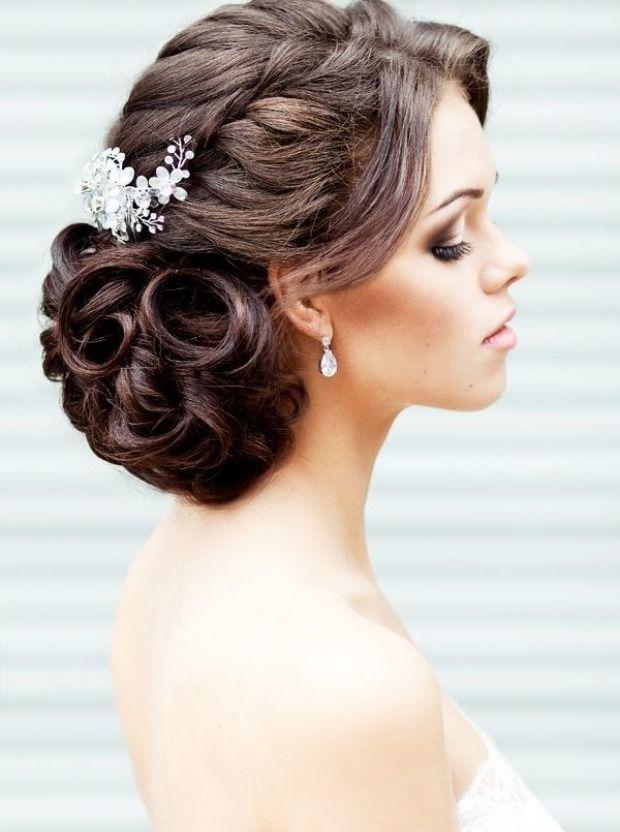Hochzeit Frisuren Mittellange Haare Rustikal  Frisur