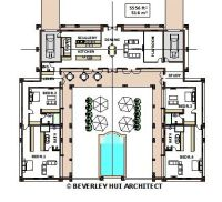 U-SHAPED HOUSE PLANS WITH POOL IN THE MIDDLE pg2 ...