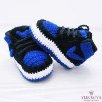 Crochet Baby Nike Shoes Free Pattern