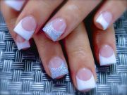 simple and elegant acrylic nail