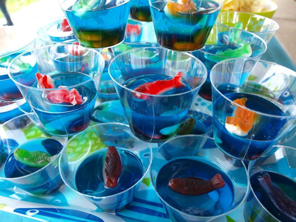 Best 25 Fish Bowl Jello Ideas On Pinterest Gummy Fish