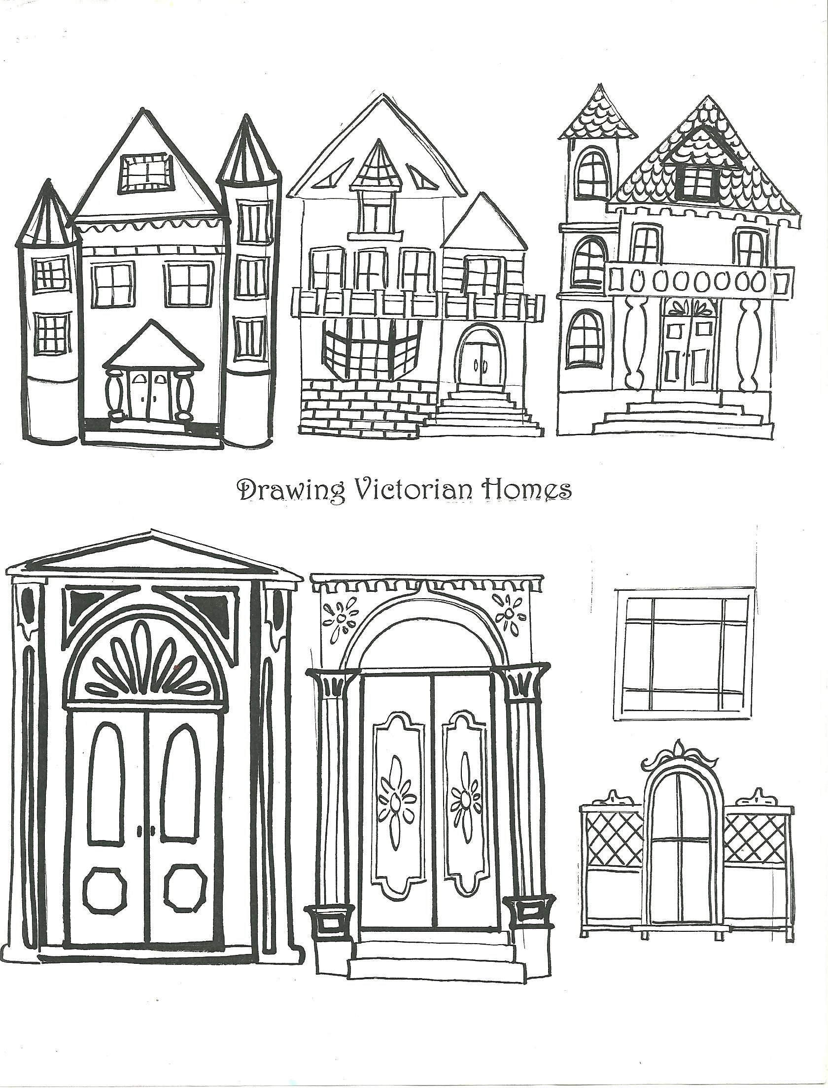 Examples Of Victorian Homes Handout T Element Shape