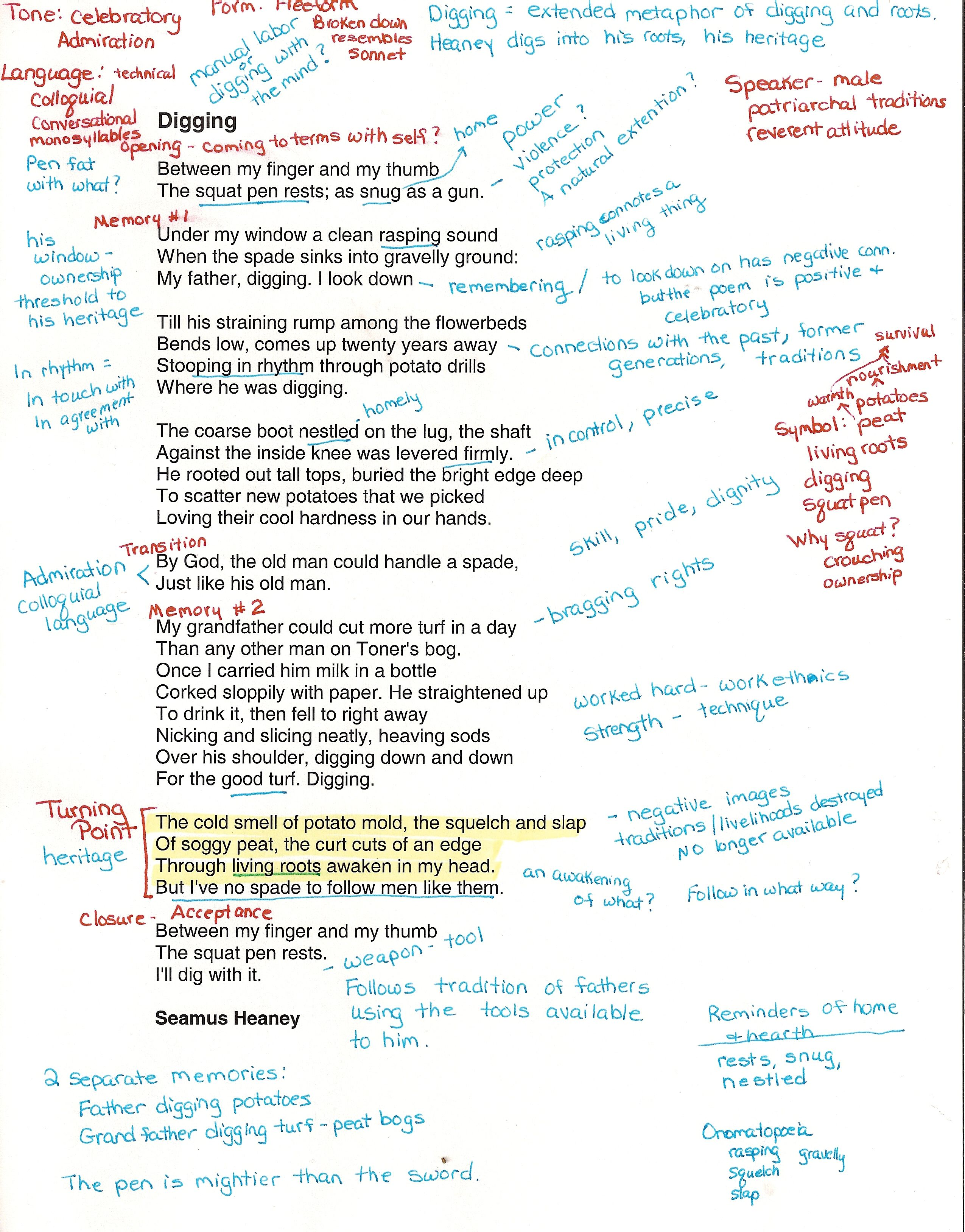 How To Annotate A Poem