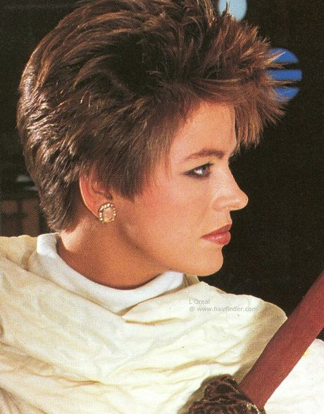 Short Hairstyles From The 80'S 80s Short Hairstyles For Women