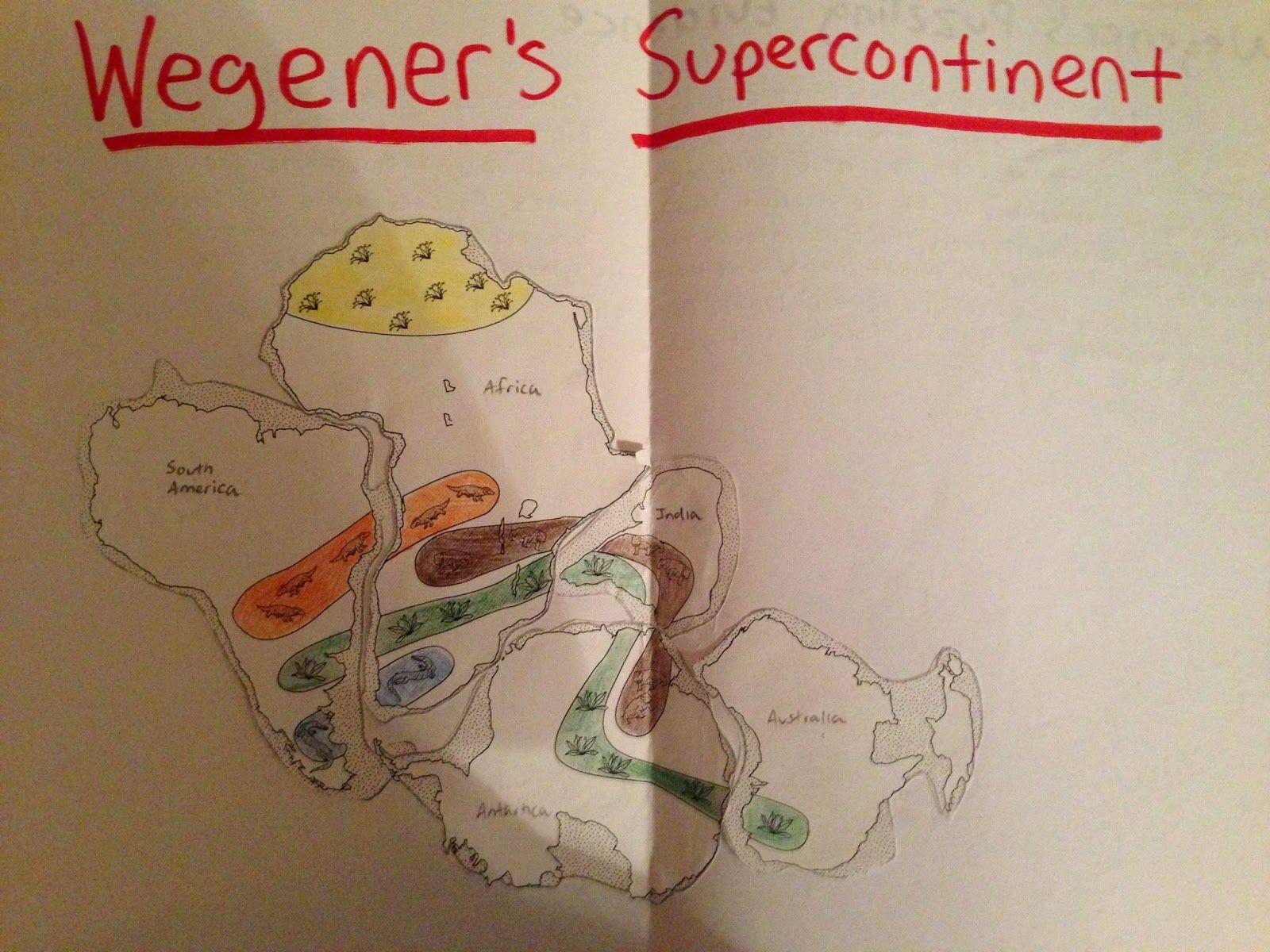 Wegener S Puzzling Evidence 8th Grade Science Lesson Plan