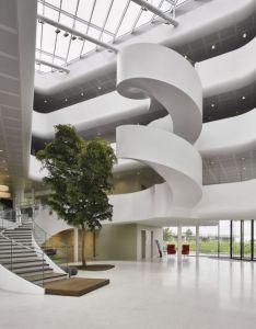 Vreugdenhil dairy foods office by maas architects nijkerk  netherlands retail design blog also rh pinterest