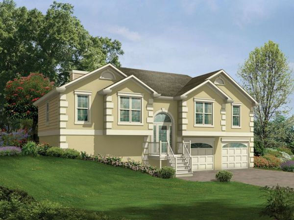 Penfield SplitLevel Home Plan 053D0049 House Plans and