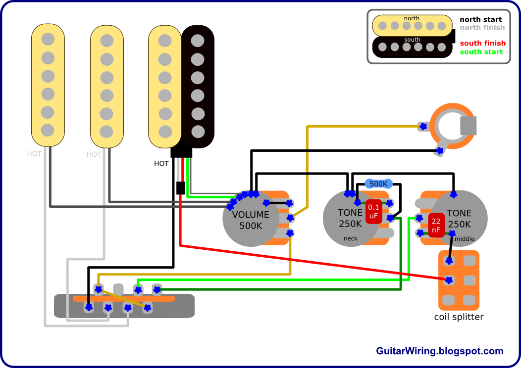 Wiring Diagram Stratocaster Hss. Wiring. Free Wiring Diagrams