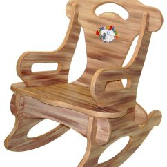 Rocking Chair Woodworking Plans White Kids Table And Chairs Brown Puzzle Rocker Solid Wood For By
