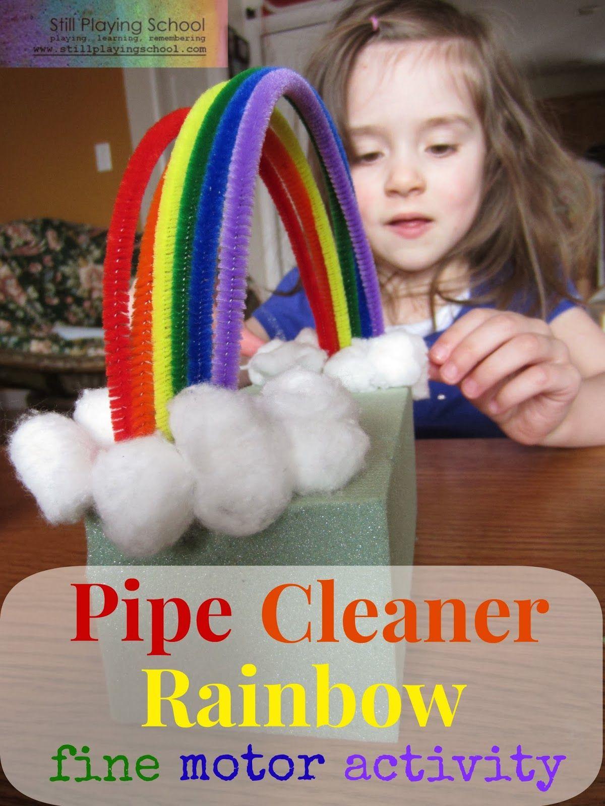 Pipe Cleaner Rainbow