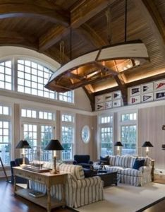 Beach house decorating also boat lights feelings and ceilings rh pinterest