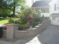 Love this retaining wall idea for my driveway. Looking to ...