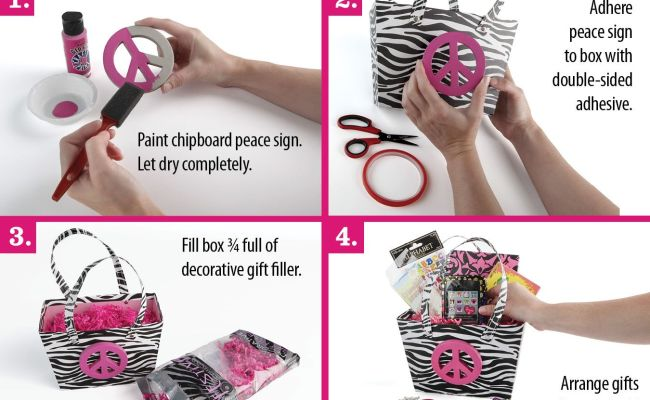 Make A Diy Friendship Basket For An Awesome Gift This