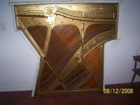 A piano harp as wall art!   Music furniture   Pinterest ...