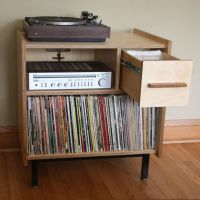 Records Storage | Record Collection | Pinterest | Storage ...