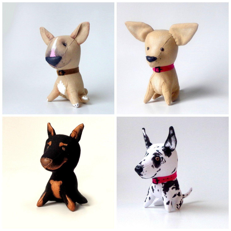 Dog Puppy Toy Plush Toy Interior Toy Plushie Dog Chihuahua