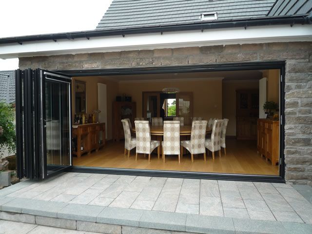 Bi fold doors for outdoor area  El Fresco  Pinterest