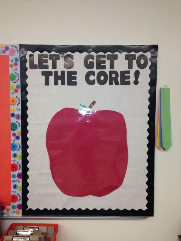 Common Core Bulletin Board School