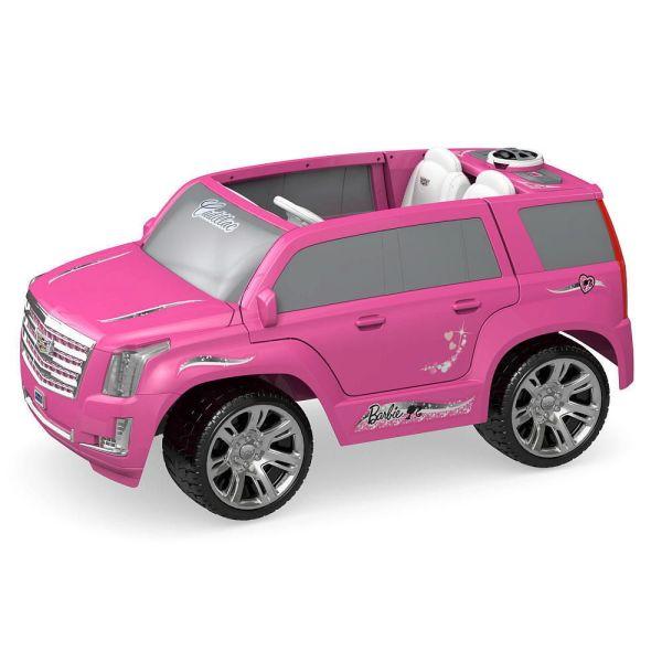Power Wheels Barbie Cadillac Escalade Ride #powerwheels Christmas Shopping