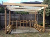 outside bbq area - Google Search   Landscaping   Pinterest ...