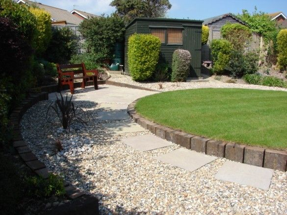 Maintenance Free Garden Ideas Maintenance Free Railway Sleepers