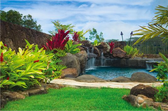 Vacation Every Day With An Exotic Landscape Design Pellettieri