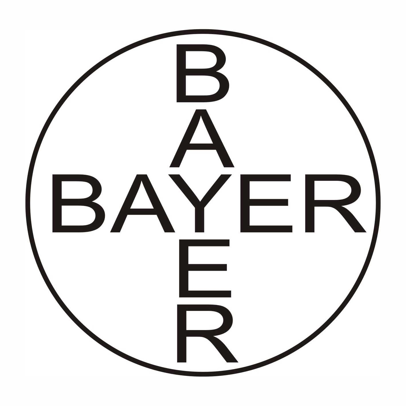 Logo 16- Bayer It is a very simple logo but the Horizontal